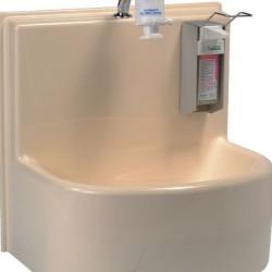 Lavabo compact 1 poste mécanique