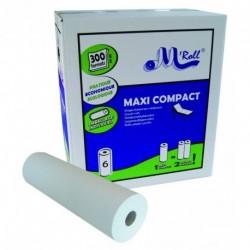 Draps d'examen 300 formats 2 plis blancs, 50 x 35 cm x 6 Rlx