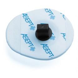 Electrodes ECG pré-gélifiées à pontet carbone 42x36 mm x 900
