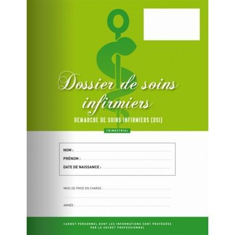 Cahier de soins et suivi infirmiers