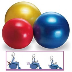 Ballon de gymnastique GYMBALL ABS