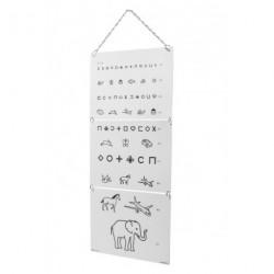 Test visuel enfant 5 mètres