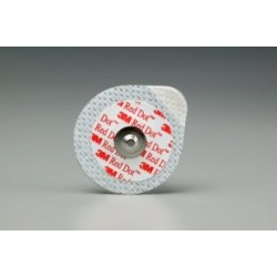 Electrodes 3M Red Dot gel solide Multi-extensible Ø 3,2 cm x 60