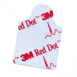 Electrodes 3M Red Dot à languette pour pince crocodile