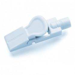 Jeu de 10 pinces adaptatrices pour électrodes à pression ou languette