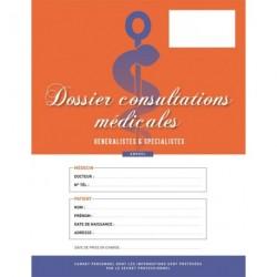 Cahier de consultations médicales