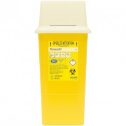 Collecteur de déchets infectieux SHARPSAFE 7 L