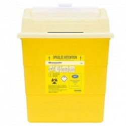 Collecteur de déchets infectieux SHARPSAFE 13 L