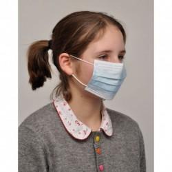 Masque de chirurgie élastique AEROKYN enfant x 50