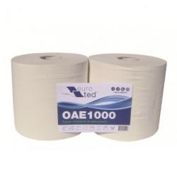 Bobines blanches 2 plis 1 000 formats x 2