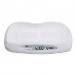 Pèse Bébé électronique-Little Balance-Bibou 205-20kg-5g-Blanc