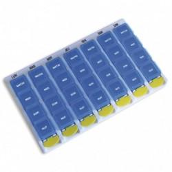 Pilulier 7 jours - 4 compartiments/jour