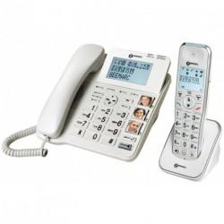 Téléphone filaire + combiné AMPLIDECT COMBI 295