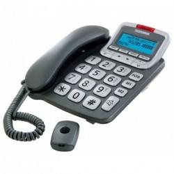 Téléphone filaire TF591 COSI avec télécommande SOS