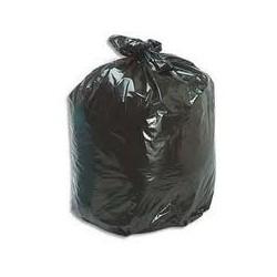 Sacs poubelle 30 L noir 27 microns x 500
