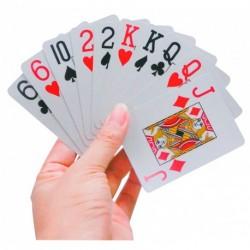 Cartes à jouer gros caractères