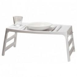 Table plateau de lit et fauteuil
