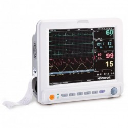 Moniteur 5 paramètres PNI-SPO2-ECG-RESP-TEMP avec imprimante UP-7000P Creative Medical