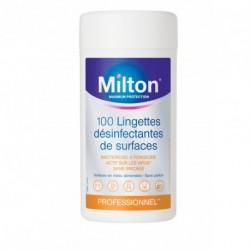 Lingettes désinfectantes MILTON