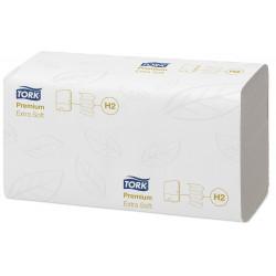 Essuie-mains enchevêtrés TORK PREMIUM 2 plis x 2 100 formats
