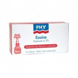 Eosine aqueuse 2 % stérile étui de 10 doses de 2 mL