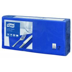 Serviettes bleues Océan TORK 2 plis 33x33 cm X 2000