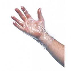 Gants polyéthylène