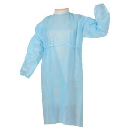 Blouse médicale non stérile, paquet de 100