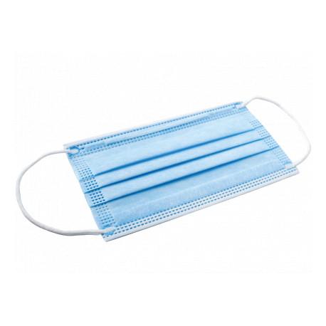 Masques chirurgical bleu EMILABO x 50