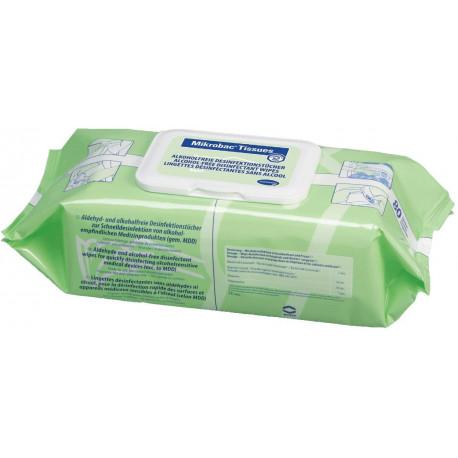 Lingettes désinfectantes Mikrobac x 80
