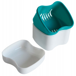 Boîte à dentier avec panier
