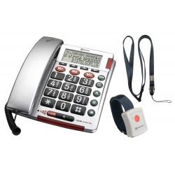TELEPHONE FILAIRE BIGTEL 50 +EMETTEUR SOS
