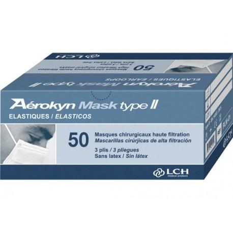 paquet de 100 chirurgical masque