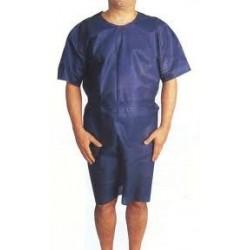 Chemises d'opérés bleues adulte x 100