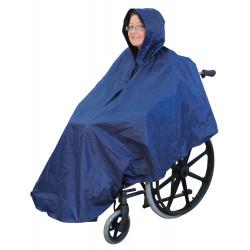 Poncho de protection spécial fauteuil