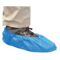 Surchaussures visiteur plastique bleu x 100