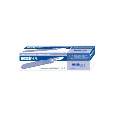 Bistouris stériles NESSIPEN (Ex-SHARPIX) x 10