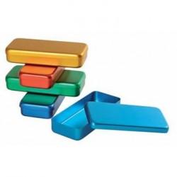 Boîtes à instruments aluminium couleur